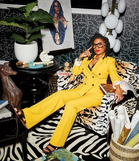 The Remix Living Owner Dominique Calhoun