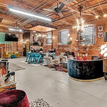 Remix Living Design Showroom <br>Location: Globe Dye Works